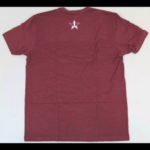 Jeffree Star Tops - Jeffree Star Can't Relate tee shirt maroon XXL